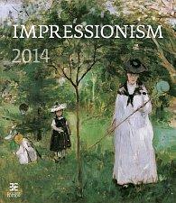 Kalendář 2014 - Impressionism - nástěnný