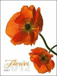 Kalendář 2012 - Flower Art - nástěnný