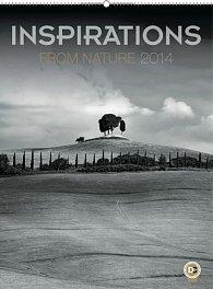 Kalendář 2014 - Inspirace přírodou - nástěnný s prodlouženými zády