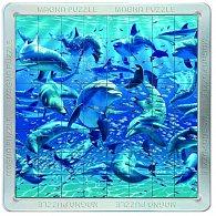 64 d. 3D Magnetické puzzle Delfíni