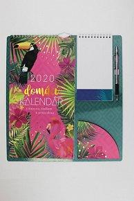 Kalendář 2020: s bločkem a propiskou