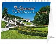 Kalendář 2015 - Nejkrásnější místa Čech a Moravy Praktik - stolní