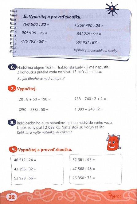 Náhled Domácí procvičování - Matematika 5. ročník