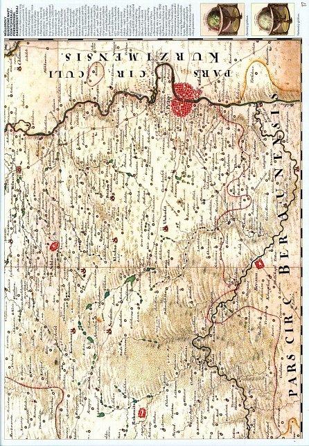 Náhled Staré mapy naší země 2 - Müllerovy mapy