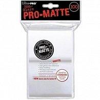 UltraPro: Pro-Matte DP Sleeves - bílá