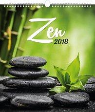 Kalendář nástěnný 2018 - Zen