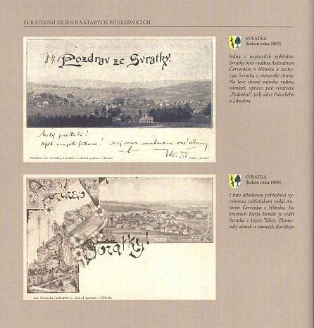 Náhled Svratecko na starých pohlednicích