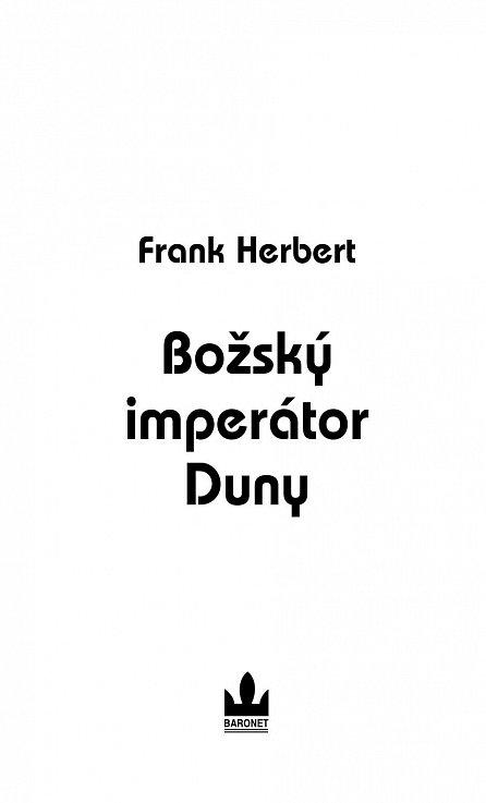 Náhled Božský imperátor Duny