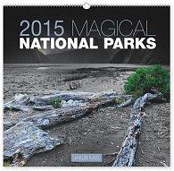 Kalendář 2015 - Magické národní parky Jakub Kasl - nástěnný s prodlouženými zády