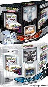 Pokémon: BW2 Reshiram/Zekrom Figure Box