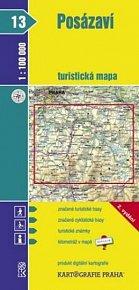 1:100T (13)-Posázaví (turistická mapa)