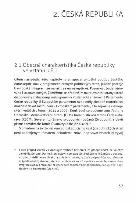 Náhled Euroskepticismus ve střední Evropě