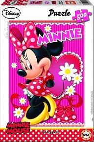 Puzzle Minnie 500 dílků