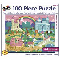 100 Puzzle v krabici - Princezny