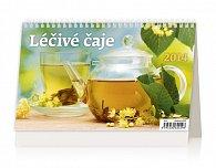 Kalendář 2014 - Léčivé čaje - stolní