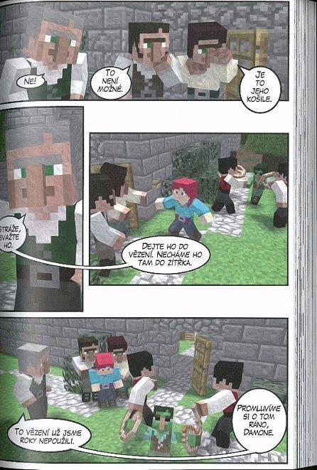 Náhled Zlaté jablko: Neoficiální megakomiks ze světa Minecraftu