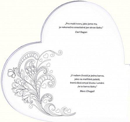 Náhled Z celého srdce - Omalovánky