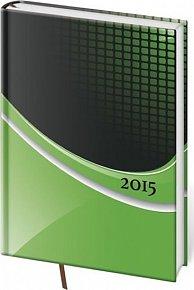 Diář 2015 - VARIO týdenní A5 - Verde