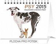 Psy s menami psov Praktik - stolní kalendář 2015