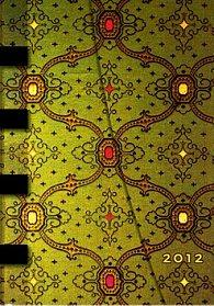 Diář French Ornate Vert HOR 2012