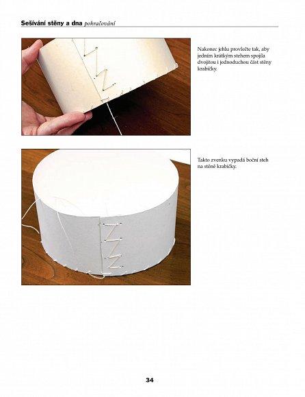 Náhled Vyrábíme krabičky - Klasika i moderna z tvrdého kartonu krok za krokem - edice Pro volný čas