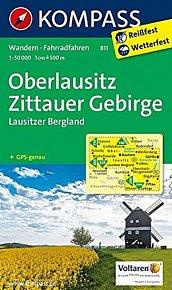 Oberlausitz Zittauer Gebirge 811 / 1:50T NKOM