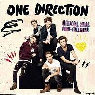 Kalendář 2015 nástěnný - One direction (178x178)