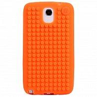 Samsung Note3 Pixel Case Oranžová