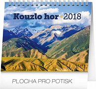 Kalendář stolní 2018 - Kouzlo hor, 16,5 x 13 cm