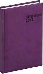 Diář 2013 - Tucson-Vivella - Denní B6, tmavě fialová, 11 x 17 cm