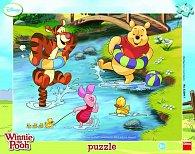 Medvídek Pú - rámové puzzle 40 dílků
