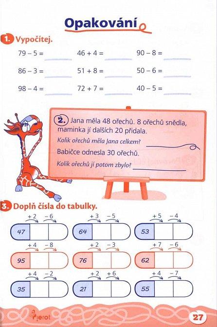 Náhled Domácí procvičování - Matematika 2. ročník