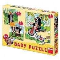 Krtek na louce - Baby puzzle