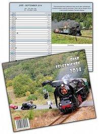 Diář železničáře 2014