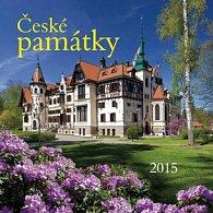 České památky - nástěnný kalendář 2015