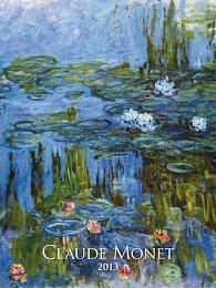 Claude Monet - nástěnný kalendář 2013