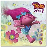 Kalendář 2017 - TROLLS