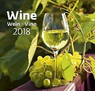 Kalendář nástěnný 2018 - Víno