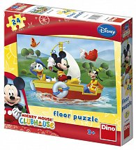 Floor puzzle 24 dílků Mickey Mouse