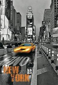 Diář 2014 - New York Jakub Kasl - Týdenní magnetický (ČES, SLO, MAĎ, POL, RUS, ANG)