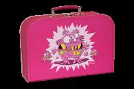 Kufřík Příšerka růžový 30 cm