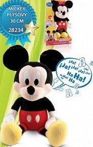 Mickey Mouse plyšový na baterie smějící se