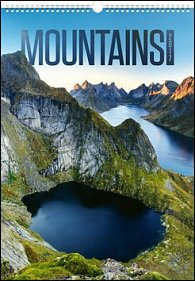 Hory Mountains 2017 - nástěnný kalendář