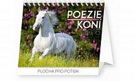 Kalendář stolní 2016 - Poezie koní - Christiane Slawik Praktik,  16,5 x 13 cm