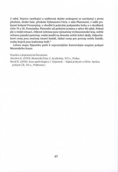 Náhled Jeskyně České republiky na historických mapách