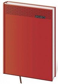 Diář 2020 - Gommato/denní A5/červená