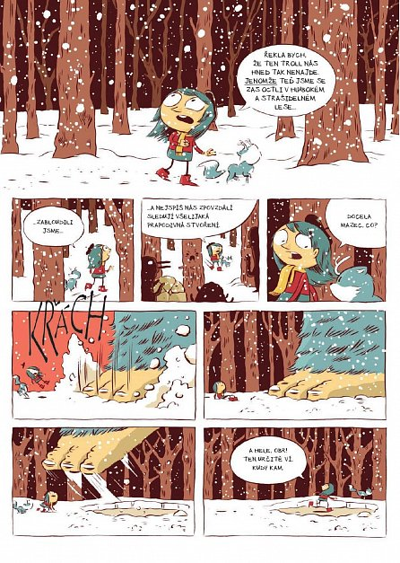 Náhled Hilda - Hilda a troll, Hilda a půlnoční obr