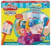 Play-Doh výroba nanuků a lízátek
