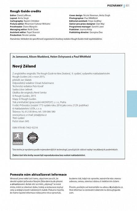 Náhled Nový Zéland - Turistický průvodce
