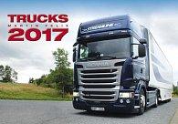 Kalendář nástěnný 2017 - Trucks